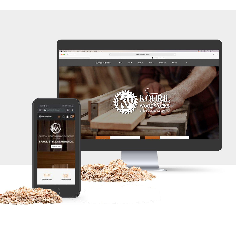 Kouril ecommerce site
