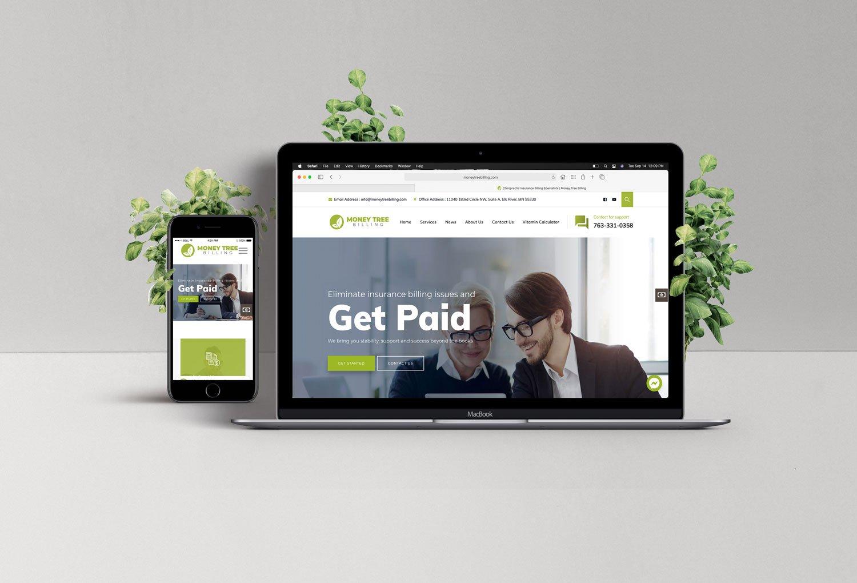 MTB responsive website