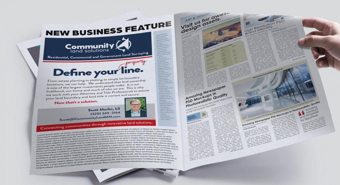 newspaper ad CLS