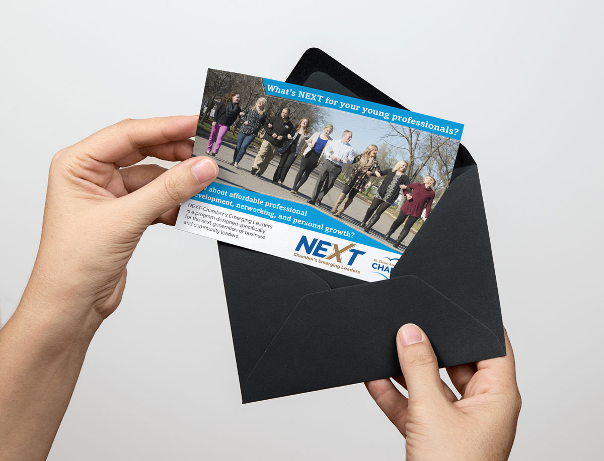mailer card for chamber