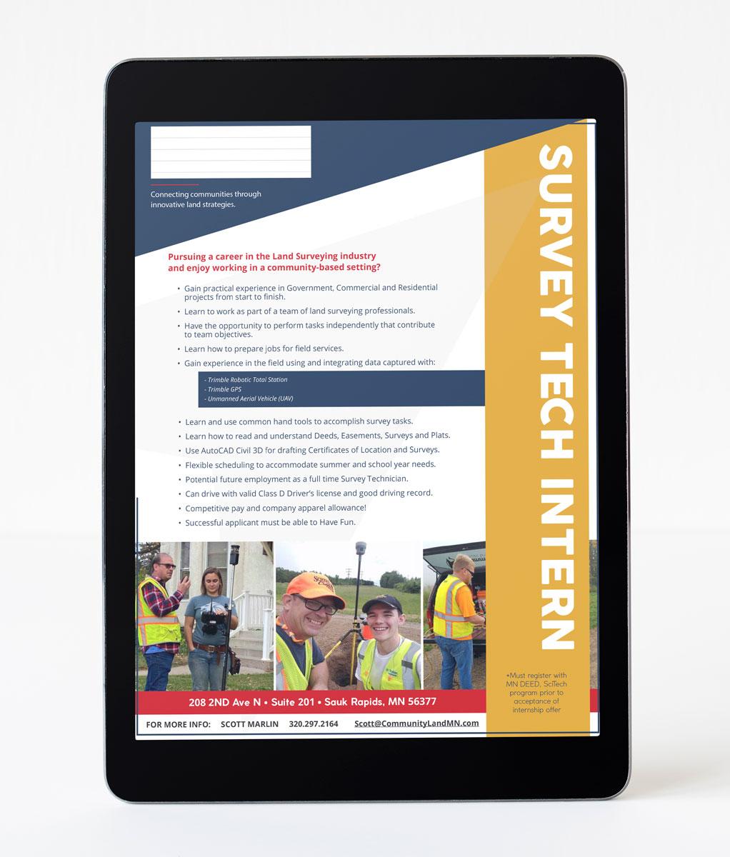 digital ad for jobseekers