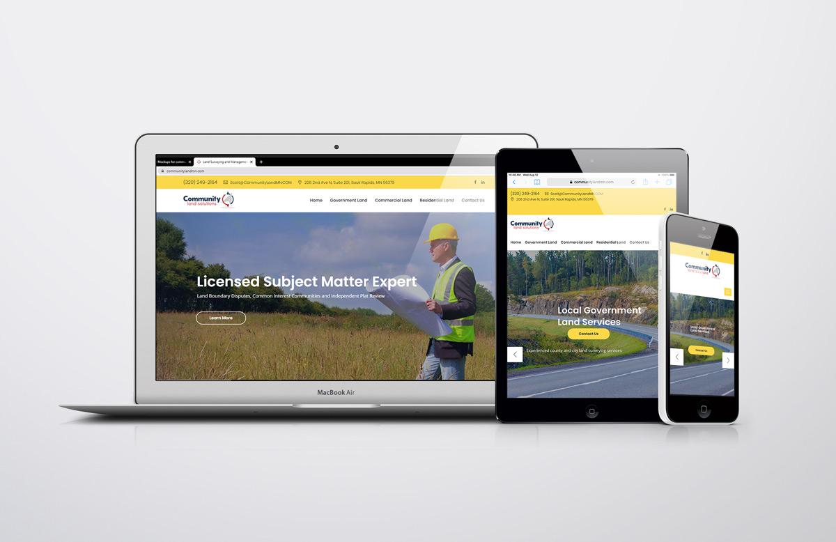 responsive website for CLS